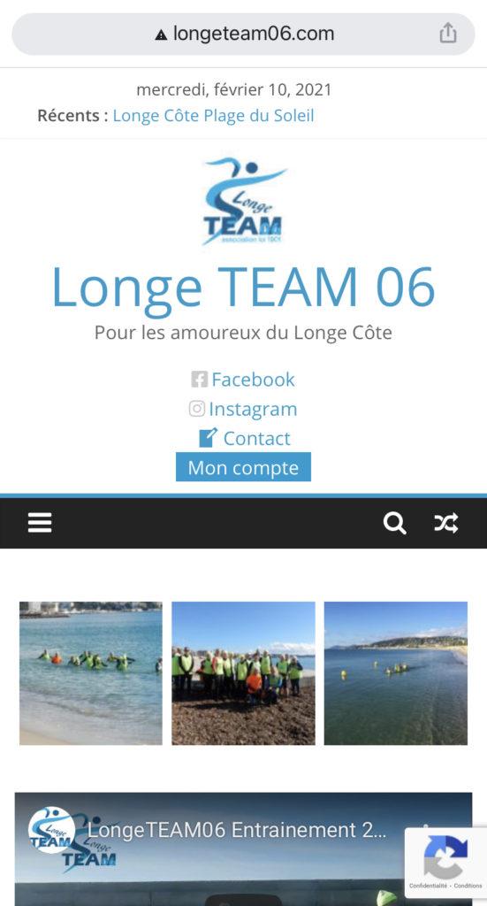 Notre site mobile