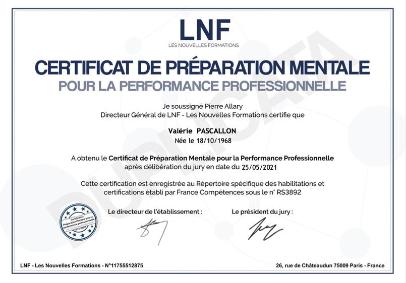 diplome preparation mental