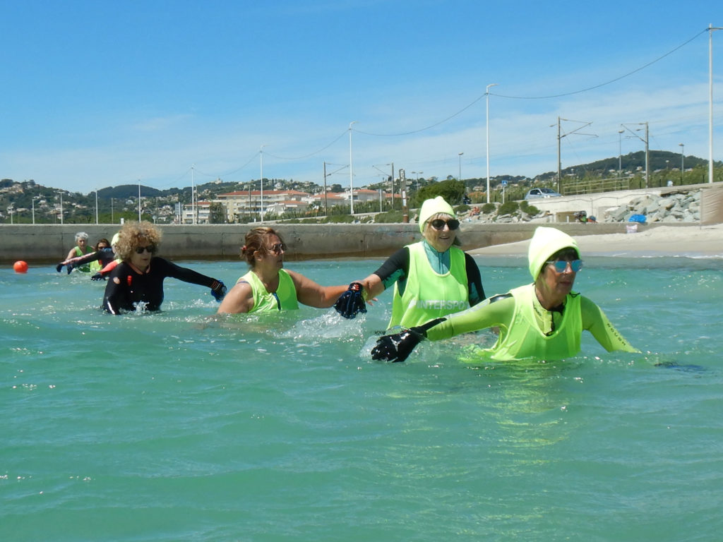 Longe côte entre Antibes 5